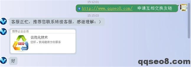 琪琪SEO博客实战与SEO大神互换友情链接全纪录的图片 - 1