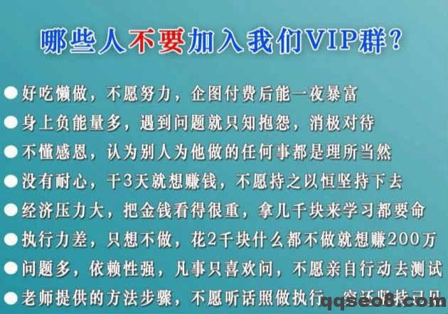 琪琪seo赚钱实战培训班正式开班的图片 - 4